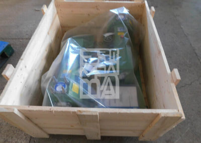 Maquinària: fleixadores, retractiladores,... Embalatges Sanfeliu