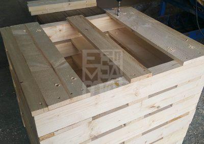 Treballem amb fusta amb tractament fitosanitar, Embalatges Sanfeliu
