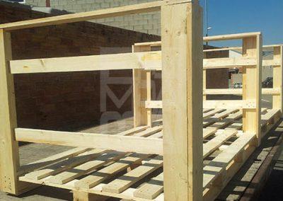 Bases palets de fusta