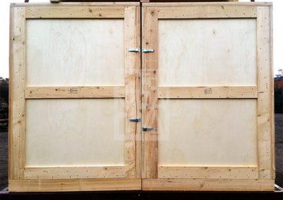 Seguridad de las mercancías con cajas de Embalatges Sanfeliu 37