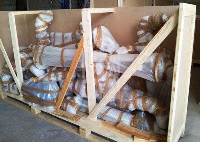 Embalaje industrial de madera de Embalatges Sanfeliu 38
