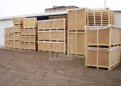 Cierro completo, protección y seguridad de las mercancías 29