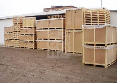 Caixes de fusta de diferents tamanys