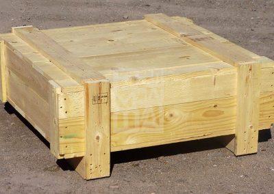 Caixa de fusta per enviament