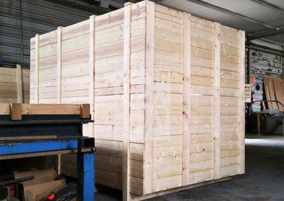 Embalaje industrial de madera con Embalatges Sanfeliu 31