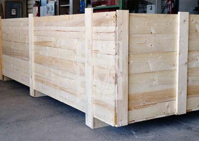 Embalaje industrial de madera a medida con Embalatges Sanfeliu 34