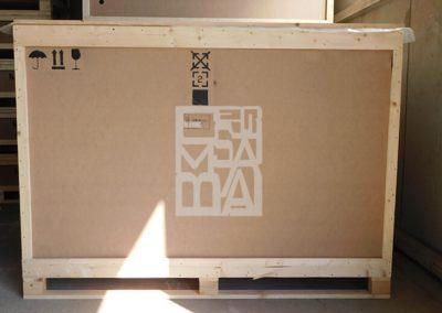 Cajas de madera de pino y aveto, Embalatges Sanfeliu