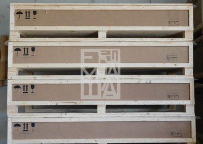 Cajas de madera, alta seguridad, Embalatges Sanfeliu