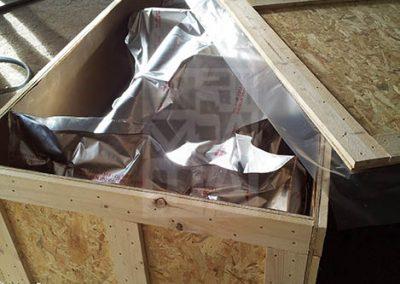 Condicionament embalatges de fusta