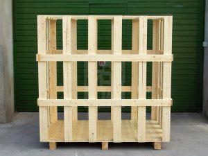 Jaulas de madera para embalaje a medida