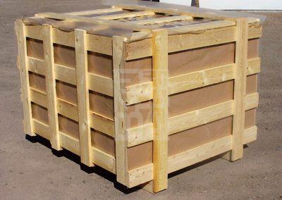 Gàbia de fusta