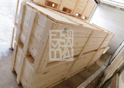 Cajas de pino o avento industrial de Embalages Sanfeliu 13