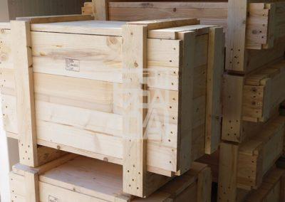 Jaulas de madera de pino o avento 24, Embalatges Sanfeliu