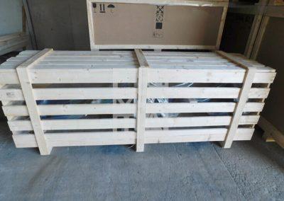Jaulas de madera según peso, Embalatges Sanfeliu