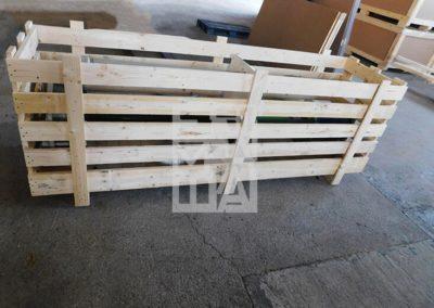 Jaulas de madera, Embalatges Sanfeliu