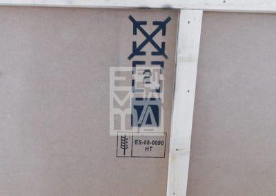 Marcatge abans del transport internacional, Embalatges Sanfeliu
