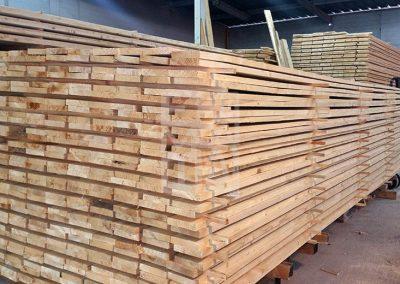 Estoc de fusta per emergències