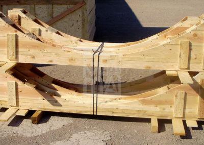 De fusta suport de diposits, Embalatges Sanfeliu