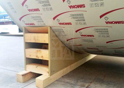 Suport de dipòsits per enviaments, Embalatges Safeliu