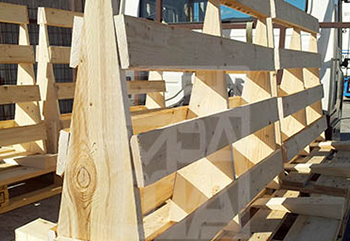 Bases y palets de madera